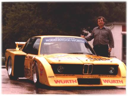 "Herbert Schnitzer and the 1979 320 Group 5 ""Extreme""."